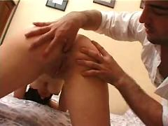 French brunette anal