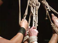 bdsm, spanking, face fuck, gays, tied up, anal sex, ropes, 30 minutes of torment, kink men, joseph rough