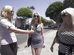 blonde, babe, money talks, interview, playboy, blowjob, shower, streets, money talks, playboy tv, megan medellin