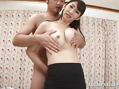 Asian model playing naughty