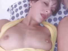 Anal  pussy creampie pov dp by cassandra michelli