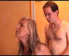 Milfs blonde and lucky bastard