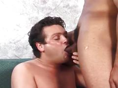 Monster black cock drilling horny sweet tight white ass hole