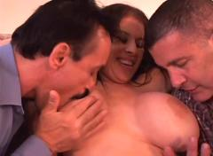 anal, big boobs, double penetration