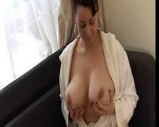 Pov : bigs tits russian