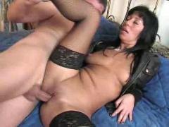 Horny italian mom