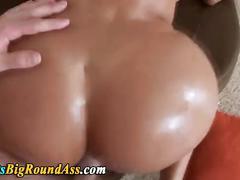Round ass latina rides