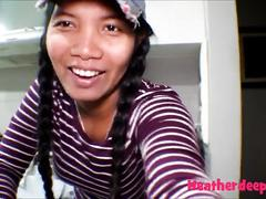 18 week pregnant thai teen heather deep nurse deepthroat throatpie cream