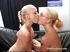 Hot german chicks in real bukkake orgy