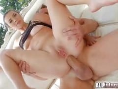 hardcore, european, creampie, blowjob, brunette, deepthroat, french, anal-creampie, euro