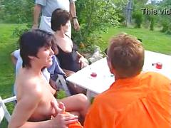 Mature orgy full german