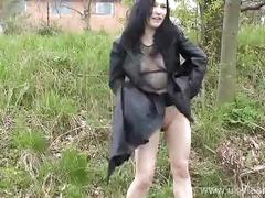 Sexy amateur fayth corbins public masturbation and outdoor pussy flashing of eng
