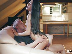 Naughty anna rose getting laid