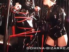 latex, fetish, shower, bondage, mistress, piss, domina, golden, maske