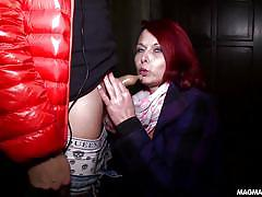 Magma film german milf redhead casting for amateur cock