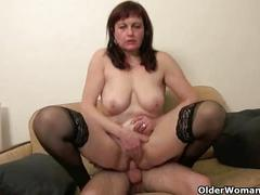 Mom spreads her legs for your cum shot