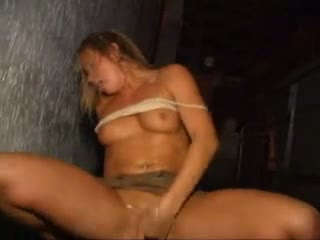 Public masturbation in disco