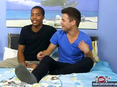 Interracial twinks dustin and markell