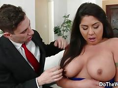 Swinger candi coxx fucks in front of husband