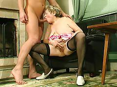 mature, granny, milf, mom, mother, old, russian, blond
