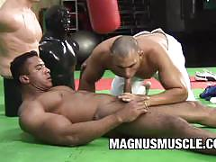 Fit gay cock sucking