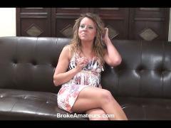 Amateur girl porn casting video
