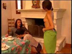 double penetration, group sex, italian