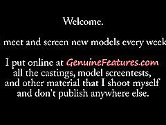 amateur, genuinefeatures.com, brunette, petite, small tits, heels, behind the scenes, modelling, photoshoot, amature, czech