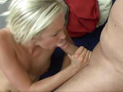 Crazy anal facial cumshot milf