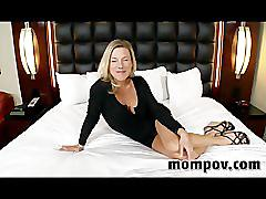 Sexy blonde milf first time adult video