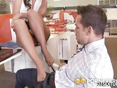 Phoenix marie in overtime in the office