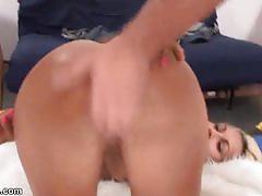 Jocelyn gangbang - multiple anal creampies