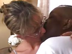 Beautiful mature interracial assfuck w massive facial pop