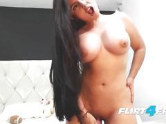 dildo, babe, fingering, masturbation, big-ass, orgasm, webcam, camgirl, striptease, big-tits, flirt4free