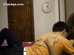 Indian playboy akhil having sex with beautician...