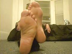 Blond meaty and stinky soles