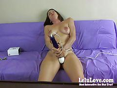 anal, amateur, lelulove.com, brunette, homemade, masturbating, butt plug, shaved, vibrator, webcam, chat, natural tits, orgasm, hd