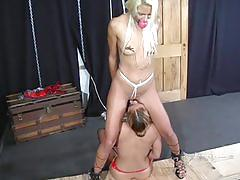 Bondage bitch interviews - scene 2 - maxine x