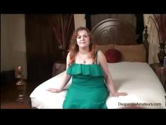 Casting nervous full figure first time squirting desperate amateurs
