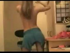 Hot blonde cam stripping i15