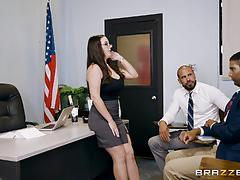 Muff hole banged kinky teacher angela white