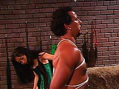 asian, tube8.com, bdsm, bondage, leather, high heels, punishment, slave, whipping, clothes pins, dominatrix