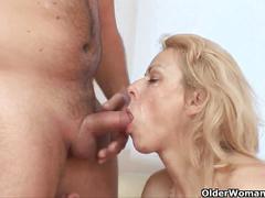 Grandma loves anal sex