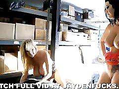 Jayden dominated by couple