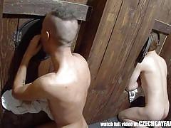 Horny studs fuck tight asses