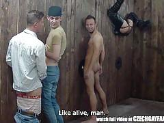 gays, czech, glory hole, blowjob, from behind, amateur, anal, group sex, gas mask, for money, czech gay fantasy, czech gav