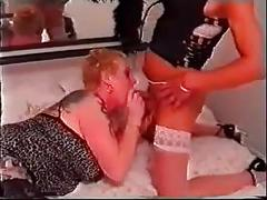 Pierced and tattooed british milf anal gangbang sex