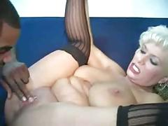 Very sexy mature lady having sex with a bbc and cum