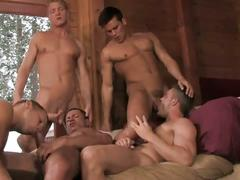 Group sex twinks having fun together
