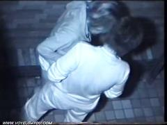 Two horny couples caught on spycam.